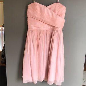 J. Crew silk Chiffon Bridesmaid dress